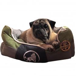 Aquagart® Hundebett grün L 75 x 60cm Hundekissen Hundebetten Hundesofa