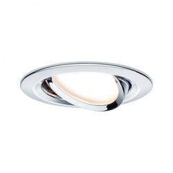 Paulmann LED 1x6,8W Ch, Prem EBL Coin Slim rd schw,
