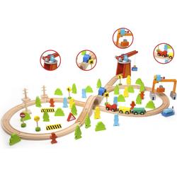 Classic World Eisenbahnset, Holzeisenbahn