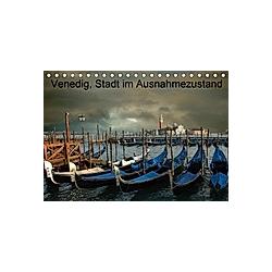 Venedig, Stadt der Masken (Tischkalender 2021 DIN A5 quer)