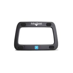 achilles Digitaluhr Parkwächter Scheibenadapter mit 4 Klebepads (Für Digitale Parkscheibe) schwarz