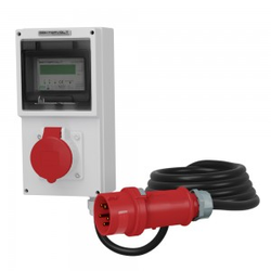 16A Mobiler Stromzähler MID 5x2.5mm2 Doktorvolt 4326