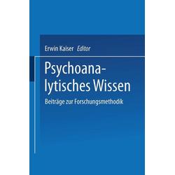 Psychoanalytisches Wissen: eBook von