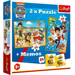 PAW PATROL Puzzle 2in1