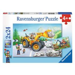 Ravensburger Puzzle Bagger Und Waldtraktor, 48 Puzzleteile