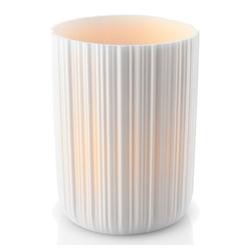 Eva Solo Kerzenhalter mit LED Kerze Weiß 11cm