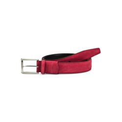 Walbusch Herren Dehn-Gürtel Rot einfarbig 100cm 100cm