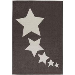 Teppich Medusa 1810, Sehrazat, rechteckig, Höhe 9 mm, Kurzflor, Motiv Sterne 200 cm x 280 cm x 9 mm