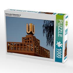 Dortmunder Wahrzeichen U Lege-Größe 64 x 48 cm Foto-Puzzle Bild von Peter Schickert Puzzle