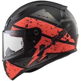 LS2 FF353 Rapid Deadbolt Matt-Black/Orange