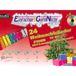 24 Weihnachtslieder (+CD)