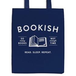 Bookish Canvas Tote Bag