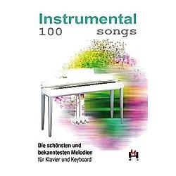 100 Instrumental Songs  für Klavier u. Keyboard - Buch