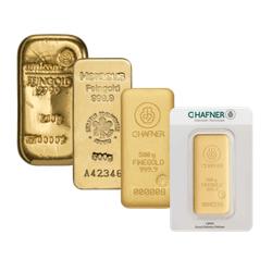 500 g Goldbarren (zollfrei)