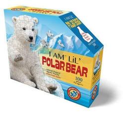 Carletto Puzzle Madd Capp Shape Puzzle Junior Eisbär 100 Teile, Puzzleteile
