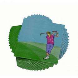 Ladies Golf Servietten