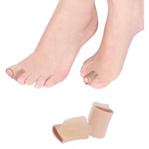 Bunion Corrector, 4 PCS Toe Straightener Schiene mit Schlauchhülse für Hallux Valgus, Harmmer Toe Pain Relief