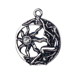 Adelia´s Amulett Keltische Zauberei Talisman, Brigit's Sonnenamulett - Inneres Licht
