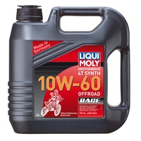 LIQUI MOLY Motorbike 4T Synth 10W-60 Offroad Race 4
