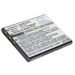 Akku wie Casio NP-120 für Exilim EX-S200, EX-Z10, 12, 15, 20