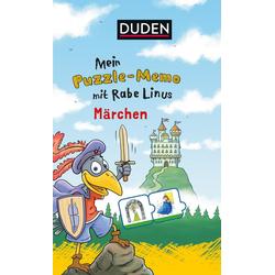 Mein Puzzlememo mit Rabe Linus - Märchen