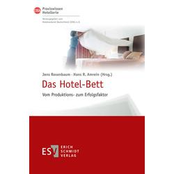 Das Hotel-Bett als Buch von