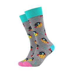 Fun Socks Socken (2-Paar) mit lustigem Kugelfisch-Motiv