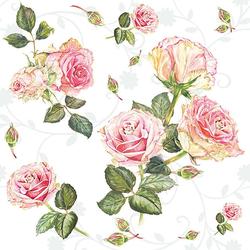 Ambiente Papierserviette Romantische Rosen, (20 St), 33 cm x 33 cm
