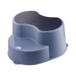 Rotho Babydesign Tritthocker Top Kinderschemel, stone grey blau