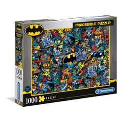 Clementoni® Puzzle Batman - 1000 Teile - Impossible Puzzle, Puzzleteile bunt