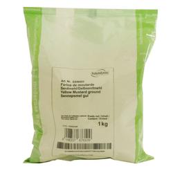 Senfmehl / Gelbsenfmehl 1kg - Moguntia