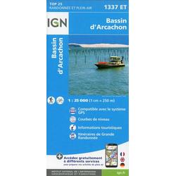 Bassin d' Arcachon 1 : 25 000
