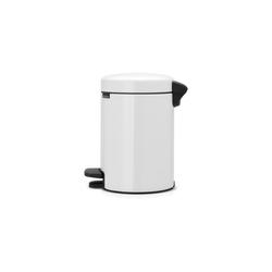 Brabantia Kosmetikeimer Newicon Weiß 3 L