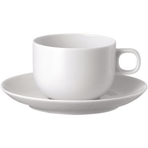 Moon Kaffeetasse 2-tlg. Weiss