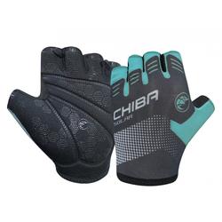Chiba Fahrradhandschuhe Handschuh Chiba Solar kurz Gr. L / 9, türkis
