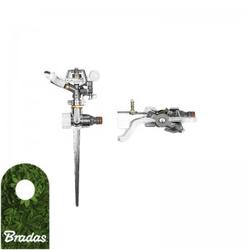 Impuls Rasensprenger Kreisregner Gartensprenger Sekatorenregner WHITE LINE BRADAS 3249