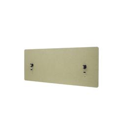 MCW Stellwand MCW-G75, Büro-Sichtschutz, Pinnwand, doppelwandig, Inkl. Anbringungen, Schalldämmend grün 60 cm x 140 cm x 2 cm