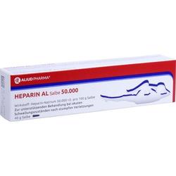 HEPARIN AL Salbe 50.000 40 g