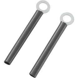TRU Components TC-CWR4-75203 Kabelhalter schraubbar 1593090 Schwarz