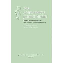 Aufklärung global - globale Aufklärungen - Buch