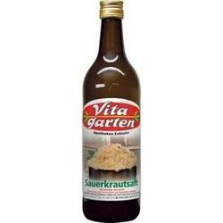 VITAGARTEN Sauerkraut Saft 750 ml