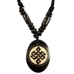 Guru-Shop Perlenkette Ethno Amulet, Tibet Halskette, Tibetschmuck -..