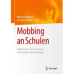 Mobbing an Schulen: Buch von