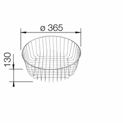 Geschirrkorb (220574)