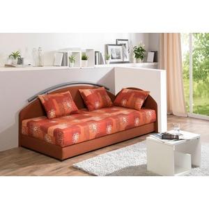Maintal Polsterliege, mit Bettkasten orange 96 cm x 206 cm