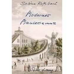 Moderner Manierismus. Sabine Rossbach  - Buch