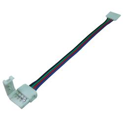 LED RGB Strip Leiste Schnellverbinder Adapter Kabel 10mm