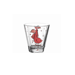 Glas Koch Kinderbecher Bambini Flamingo, 215 ml