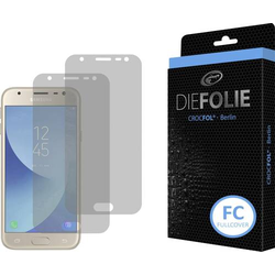 Crocfol Die Folie Fullcover Displayschutzfolie Passend für: Samsung Galaxy J3 (2017)