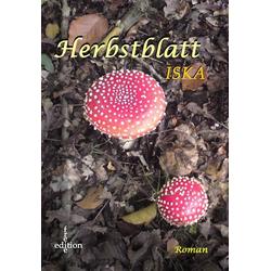 Herbstblatt als Buch von Iska